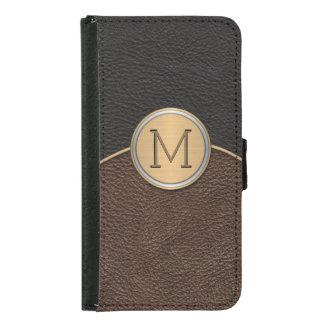 Executive Modern Monogram Samsung Galaxy S5 Wallet Case