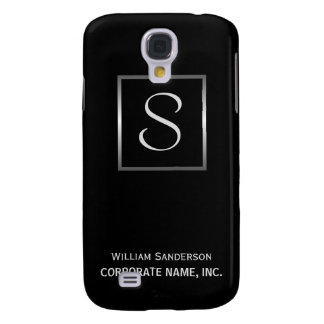 Executive Monogram - Corporate ID iPhone Cases Samsung S4 Case