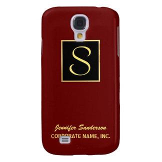 Executive Monogram - Corporate iPhone Cases Samsung Galaxy S4 Case