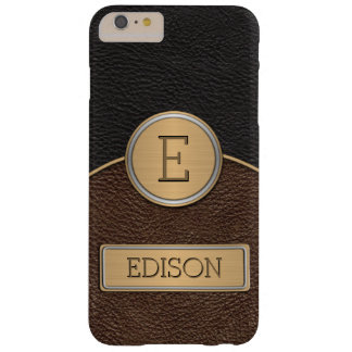 Executive Monogram Name Template Barely There iPhone 6 Plus Case