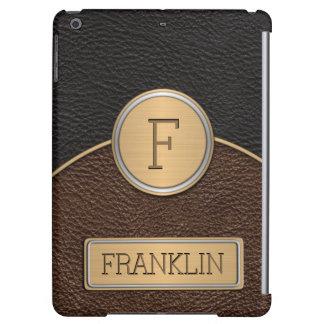 Executive Monogram Name Template Case For iPad Air
