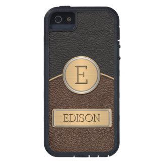Executive Monogram Name Template iPhone SE/5/5s Case