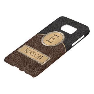 Executive Monogram Name Template Samsung Galaxy S7 Case