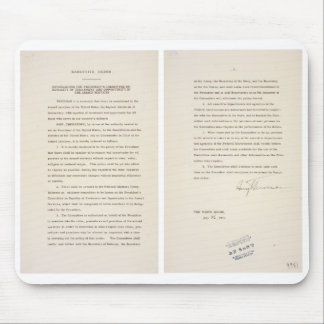 Executive Order 9981 Desegregation of Armed Forces Mousepads