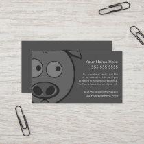Executive Pig Business Card