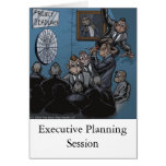 Executive Planning Greeting Card