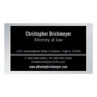 Executive Professional Business Card Black