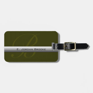 Executive Series M-2 (Military Green) Luggage Tag