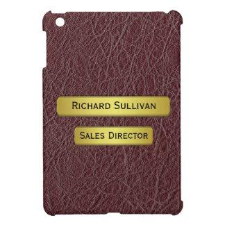 Executive's Gold Name Plate Effect iPad Mini Case