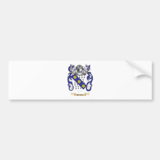 Exell Coat of Arms Car Bumper Sticker