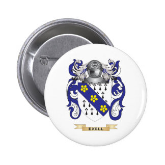 Exell Coat of Arms Buttons