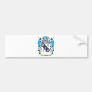 Exell Coat of Arms - Family Crest Car Bumper Sticker