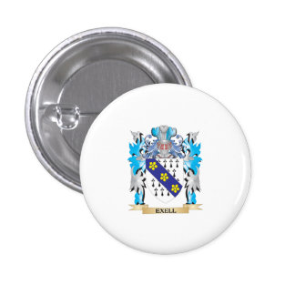 Exell Coat of Arms - Family Crest Pins