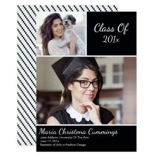Exemplar Scholar Graduation Announcement