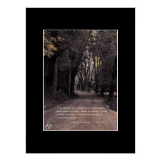Exempt from Public Haunt - Shakespeare Quote Poste Poster