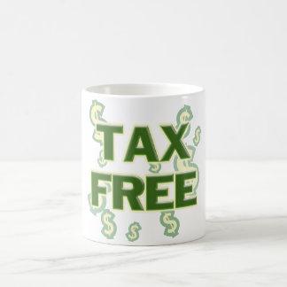 Exento de impuestos taza