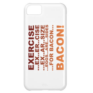 Exercise bacon cover for iPhone 5C