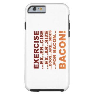 Exercise bacon iPhone 6 case