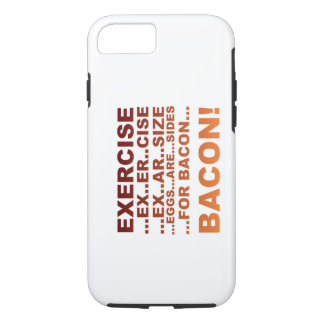 Exercise bacon iPhone 8/7 case