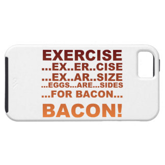 Exercise bacon iPhone SE/5/5s case