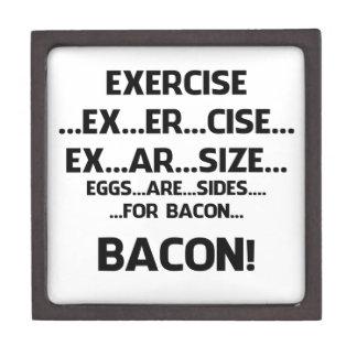 Exercise..BACON Premium Jewelry Box