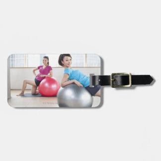 Exercise Balls Bag Tag
