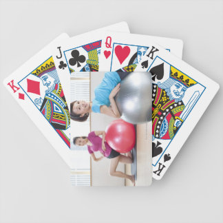 Exercise Balls Bicycle Playing Cards