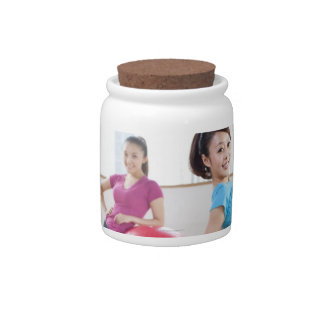 Exercise Balls Candy Jars