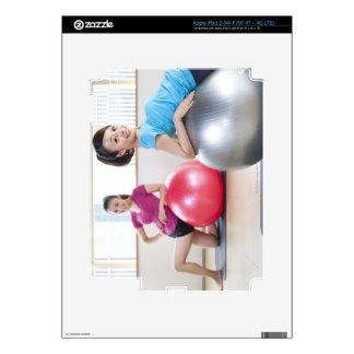 Exercise Balls iPad 3 Skins