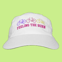 Exercise Cyclist Personalized Cap