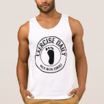 Exercise Daily...Walk with Christ Tanktops