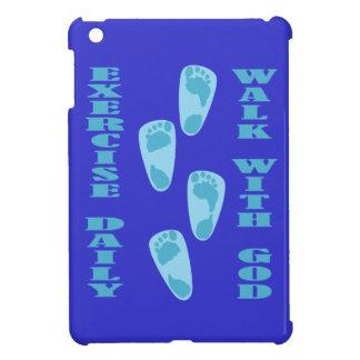 Exercise Daily - Walk with God (Matt 11:28-30) iPad Mini Cases