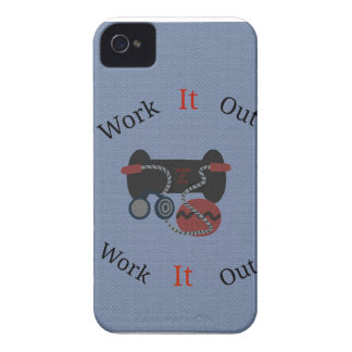 Exercise Devices iPhone/iPad Case