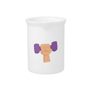 Exercise Dumbbell Drink Pitcher