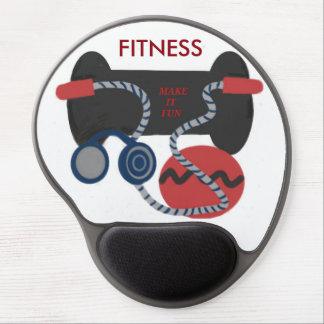Exercise Equipment Gel Mousepad