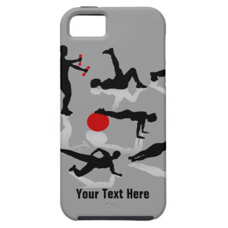 Exercise Figures (Customizable) iPhone 5 Cover