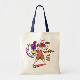 EXERCISE FOR LIFE TOTE BAG