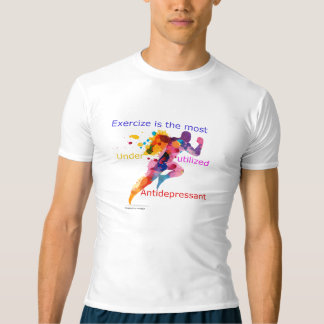 Exercise is the most underutilized antidepressant t-shirt