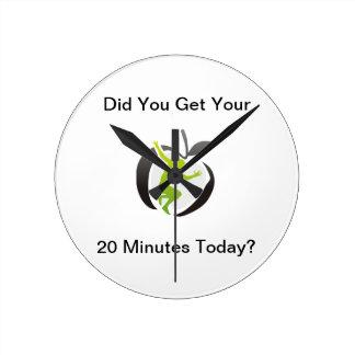 Exercise Menu Clock