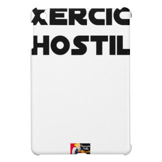 Exercise of Hostile - Word games François City iPad Mini Cases