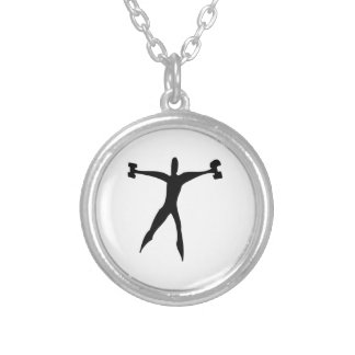 Exercise Personalized Necklace