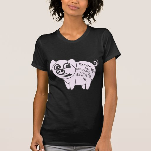 Exercise Pig T-shirt