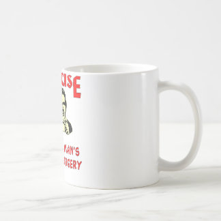 Exercise Poor Man's Plastic Surgery Coffee Mug