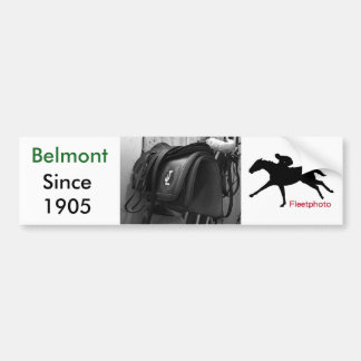 Exercise Rider's Saddle Bumper Sticker