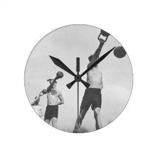 Exercise Round Clocks