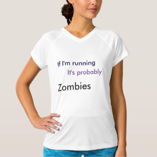 Exercise Shirt (Running from Zombies)