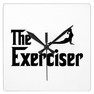 Exercise Square Wallclocks