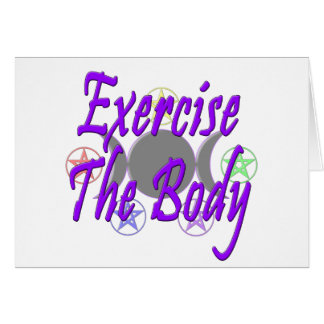 Exercise The Body Card