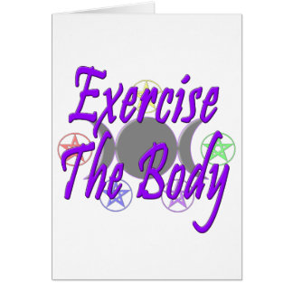 Exercise The Body Cards