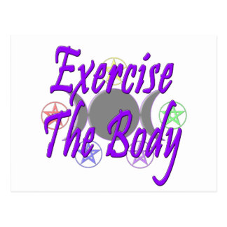 Exercise The Body Postcard